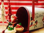 Christmas Mail Cupcakes (Eggnog Cupcakes)