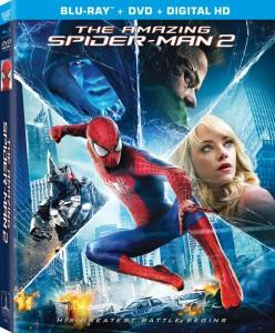 Blu-ray de The Amazing Spider-Man 2: El Poder de Electro