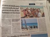Escalada conflictos playa