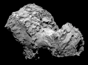 Cometa Churyumov-Gerasimenko. modelo Eléctrico