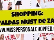 SHOPPING COST: Faldas Zara -30€!