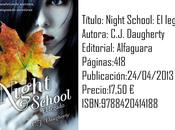 Reseña: Night School: legado Daugherty