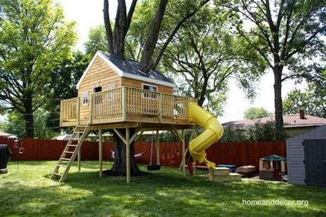 Las casas de los rboles tree houses paperblog - Casas ninos jardin ...