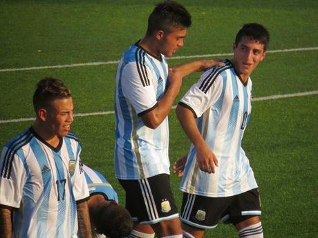 Argentina Sub 20-Barcelona Sub 20