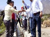 Gore lima inaugura revestimiento metros lineales canal riego barranca…