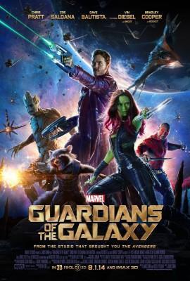 Guardianes de la Galaxia poster oficial