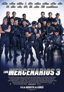 Cartel de 'Los Mercenarios 3'