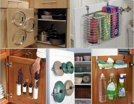 Trucos como ordenar tu casa y ganar espacio paperblog - Ways of creating more storage space in your home ...