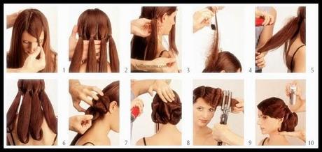 Peinados ejemplo 16 peinado de novia recogido bajo con - Peinados faciles recogidos paso a paso ...