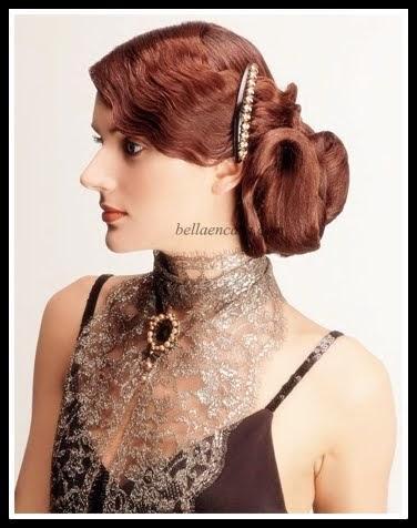 Peinados Ejemplo 16 Peinado De Novia Recogido Bajo Con Ondas Al