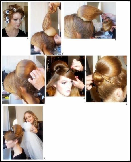Peinados de novia recogidos paso a paso paperblog - Como hacer peinado para boda ...