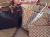 viejo nuevo bolso Neverfull Louis Vuitton