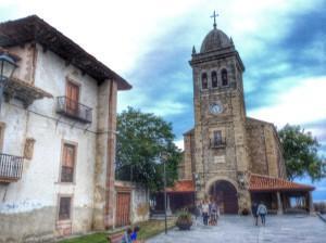 Parroquia de Santa María y Palacio de Pola. Luanco