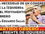 Eduardo Salas local Partido Obrero Ruta
