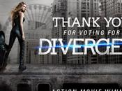 Divergente pasados Teen Choice Awards 2014