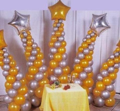 Decoraci n para fiestas con globos paperblog for Decoracion de globos para fiestas infantiles paso a paso