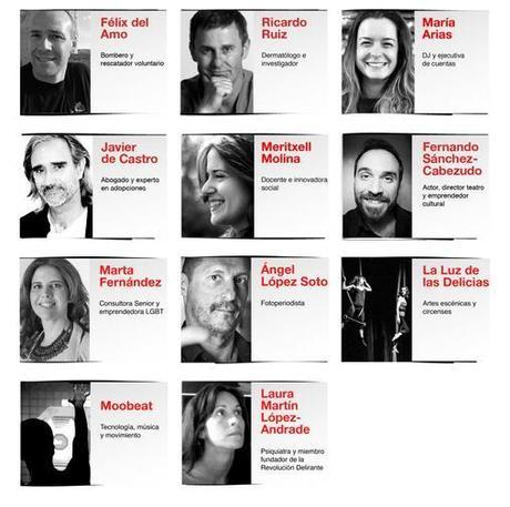 ponentes TEDxValladolid 2014