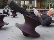 Diversión esta original silla balancín