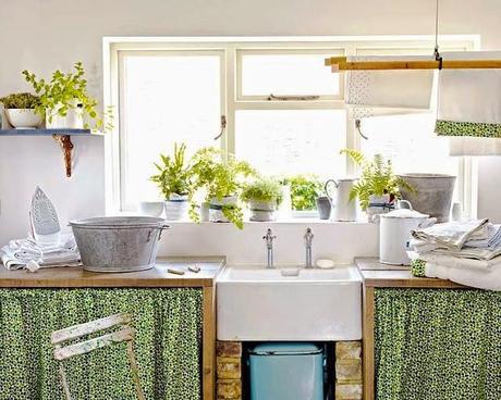 Lavaderos rusticos rustic style laundry room paperblog for Lavaderos de casas decoracion