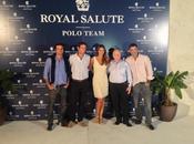 Helen Lindes amadrina equipo polo Royal Salute juega torneo Sotogrande