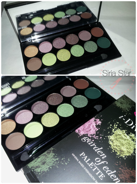 Sleek: Paleta Garden of Eden