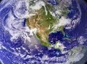 Satelite espacial filma superficie terrestre sorpresa