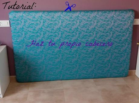 Como hacer un cabecero de cama forrado paperblog - Hacer un cabecero de cama ...