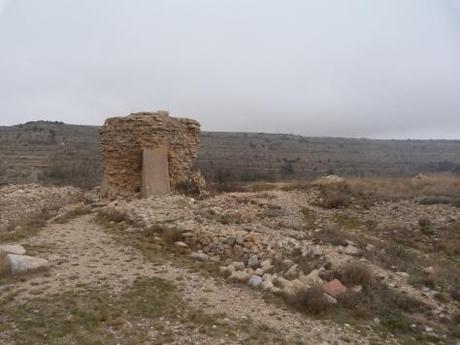 Parte de los escasos restos del Castillo