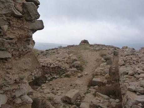Parte alta del Castillo con sus escasos restos