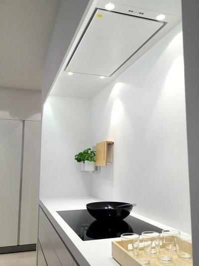 Ltima tendencia en campanas campanas blancas en el dise o de la cocina paperblog - Campana de la cocina ...