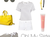 Look Stripes with yellow