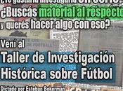 Taller Investigación Histórica sobre Fútbol