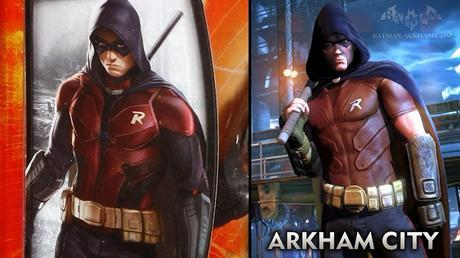 Primer Vistazo De Robin Para Batman: Arkham Knight