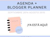 Freebies: Agenda Blogger Planer 2014/15