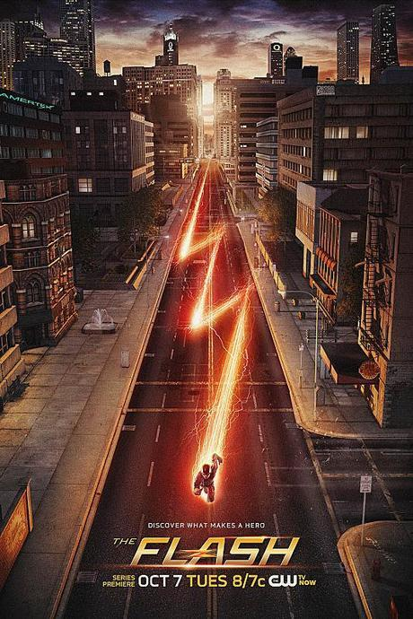 the flash poster serie