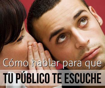 Cómo hablar para que tu público te escuche - Sandra Llinares