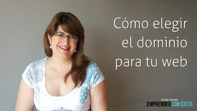 Cómo elegir el dominio para tu web - Sandra Llinares