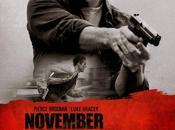 "Nuevo póster internacional ""the november man"""