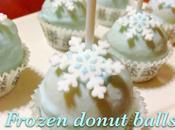 Frozen donut balls