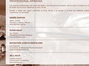mejores profesionales sector bodas opinan sobre Exclusive Weddings Teruel
