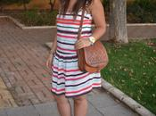 Outfit Striped Dress