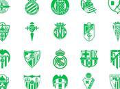 Iconos equipos Liga española Futbol. iconos gratis. Escudos 2014-2015