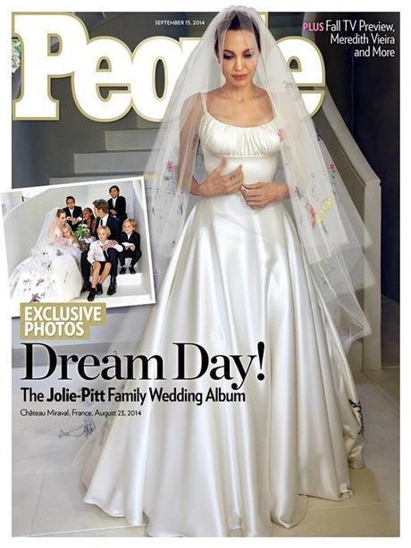 Angelina Jolie y Brad Pitt boda