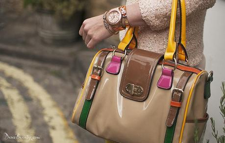 Bolso color blocking Deseo Beauty