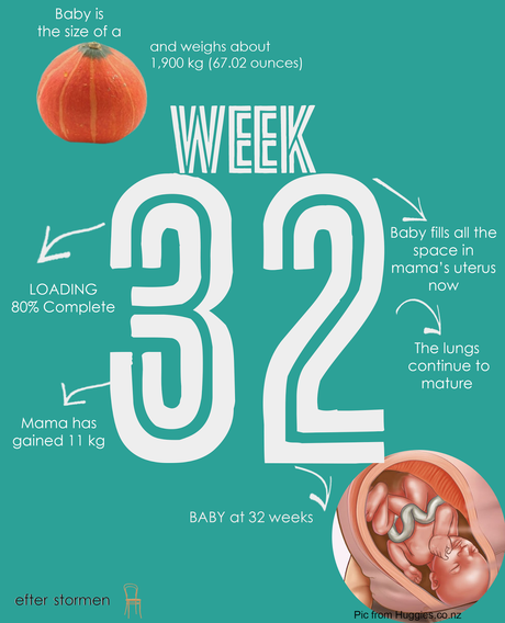 Semana 32 Embarazo | Week 32 Pregnancy