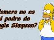¿Homero padre Maggie Simpson?