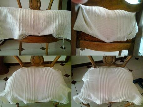 El paso a paso del tapizado de mis sillas de comedor for Como tapizar una silla