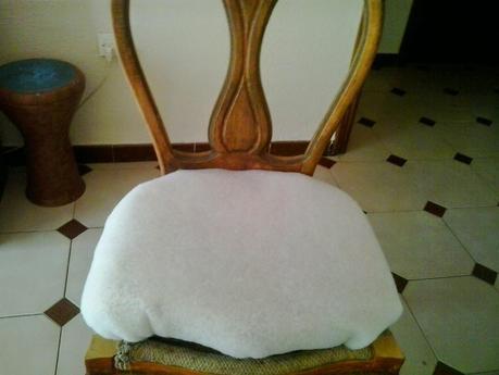 El paso a paso del tapizado de mis sillas de comedor - Esponja para tapizar ...