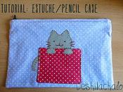 Tutorial: estuche gato pencil case