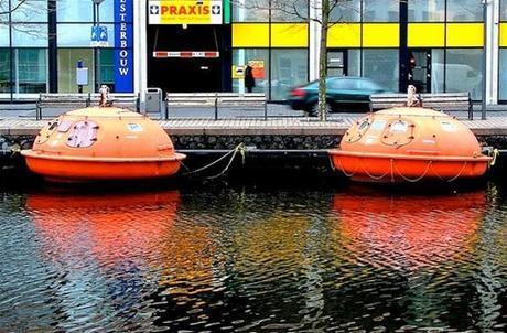 Hoteles raros raros que te encuentras a lo largo y ancho de los Países Bajos (I)